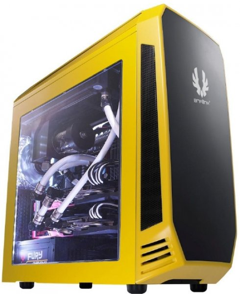 Bitfenix Bitfenix Aegis Case W/display Yellow Colour Matx Case No Psu (ls) (BFC-AEG-300-YKWL1-RP)