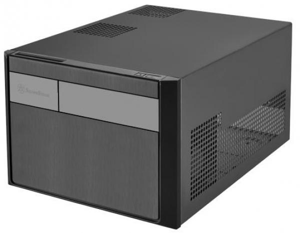 Silverstone Sg11 Matx Sff Case Black Colour Supports Atx Psu (ls) (G410SG11B000020)