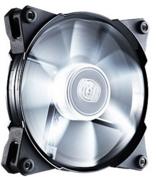 Coolermaster Coolermaster Jetflo 120mm 4pin Pwm Case Fan With White Led (R4-JFDP-20PW-R1)