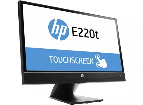 Hp E220t 22' Touch Led 8ms 16:9 1980x1080 Vga+dp Usb Tilt Height Piv (L4Q76AA)