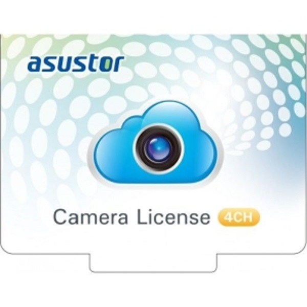 Asustor Nvr 4ch Camera License Package (AS-SCL04)