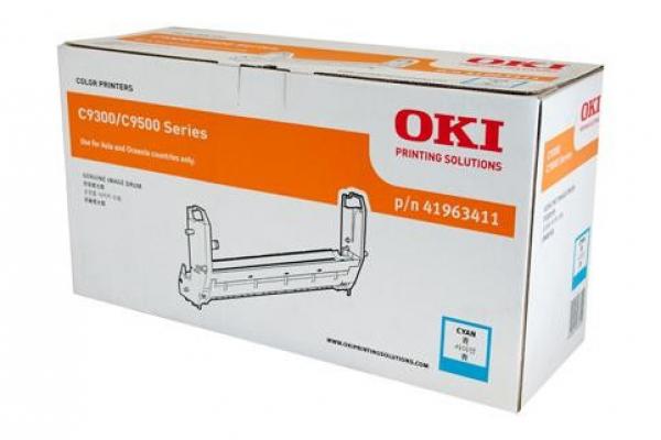 OKI Cyan Drum C9300/9500 39k 41963411