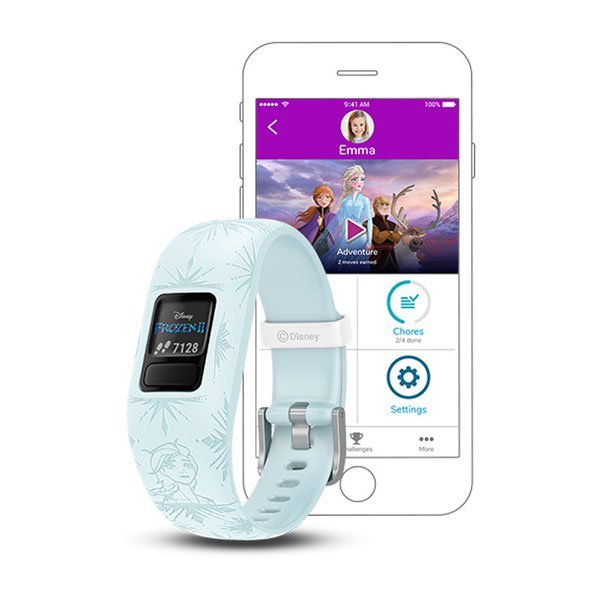Garmin Vivofit Jr 2 Disney Frozen 2 Elsa GPS Devices  (010-01909-38)
