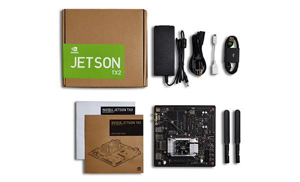 Leadtek Nvidia Jetson Tx2 Tegra Devkit USB 3.0 Type A Hdmi M.2 Key E Pci (945-82771-0006-000)