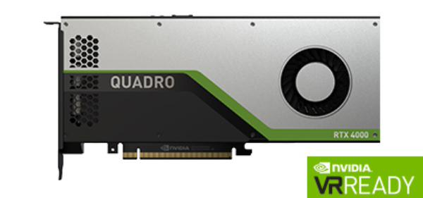 Leadtek Quadro RTX4000 Workstation Graphic Card Pcie 8GB GDDR6 (126R3000100)