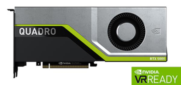 Leadtek Quadro RTX5000 Workstation Graphic Card Pcie 16GB GDDR6 (126Q7000100)