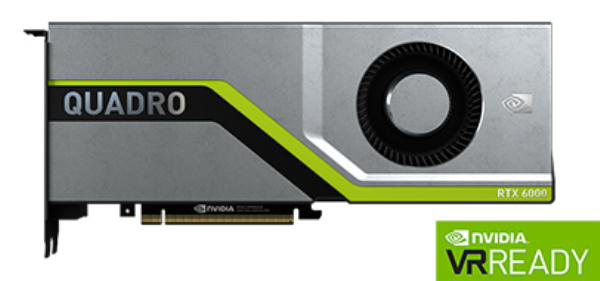 Leadtek Quadro RTX6000 Workstation Graphic Card Pcie 24GB GDDR6 (126Q8000100)