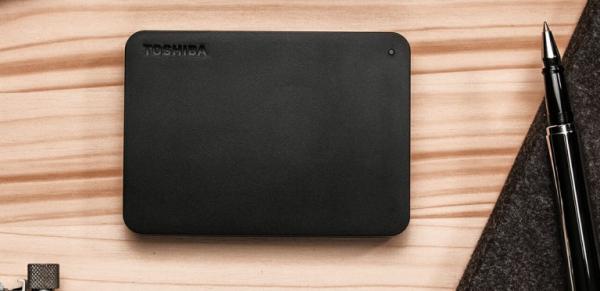Toshiba 1TB Canvio Basics Portable Hard Drive Storage - (HDTB310AK3AA)