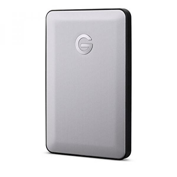 Hgst G-Drive 1TB USB-C 2.5'' Portable External HDD Space Gray External Portable (0G04844)
