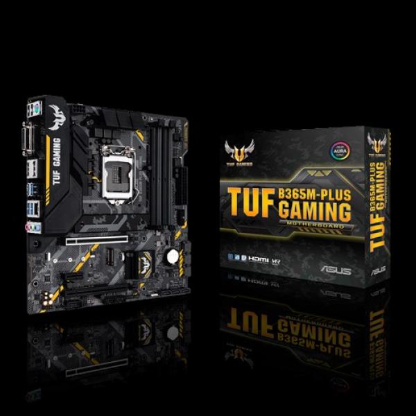 Asus TUF B365M Plus  mATX Gaming Motherboard
