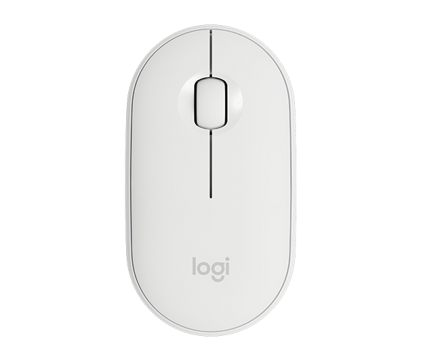 Logitech Pebble Wireless Mouse 910-005600 | Off White