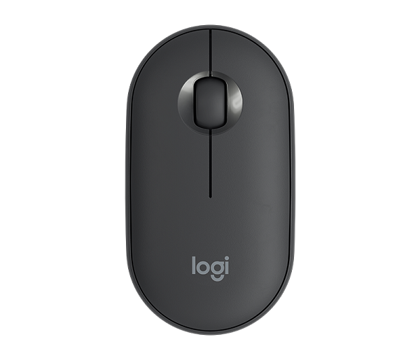 Logitech Pebble Wireless Mouse 910-005602 |  Graphite