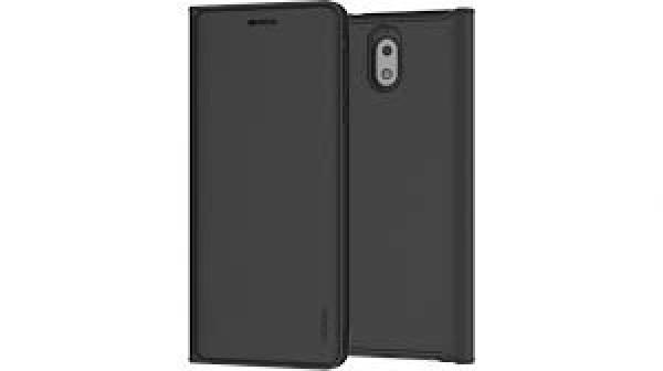 Nokia 3.1 Flip Cover Black - Mobile Handsets (1A21T5V00VA)
