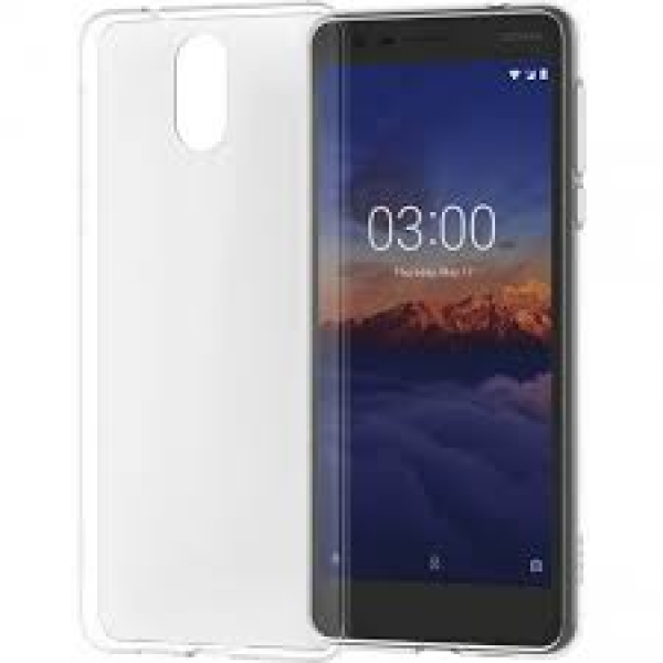 Nokia 3.1 Clear Protective Case  Mobile Handsets (1A21T5W00VA)