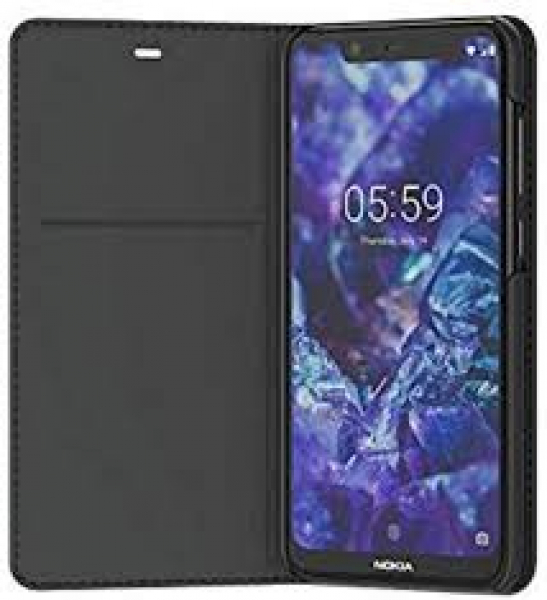 Nokia 5.1 Plus Flip Cover Black - Mobile Handsets (8P00000015)