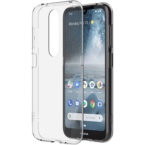 Nokia 4.2 Clear Case Cover Mobile Handsets (8P00000060)