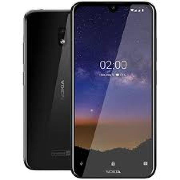 Nokia 2.2 Black Smartphone 13MP Mobile Handsets (HQ5020DG48000)