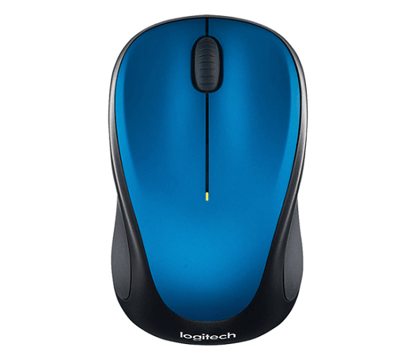 Logitech Wireless Mouse M235 2nd Gen Blue Mice (910-003392)