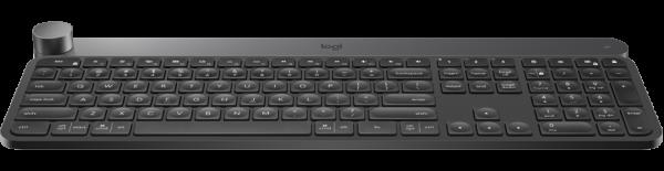 Logitech Advanced Keyboard With Creative Input Dial Keyboard (920-008507)