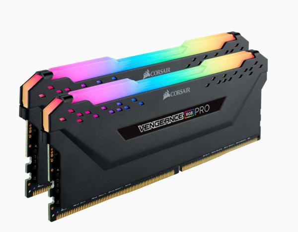 Corsair Vengeance Rgb Pro 16gb 2x8gb Ddr4 3000mhz C16 Desktop Gaming Me CMW16GX4M2D3000C16