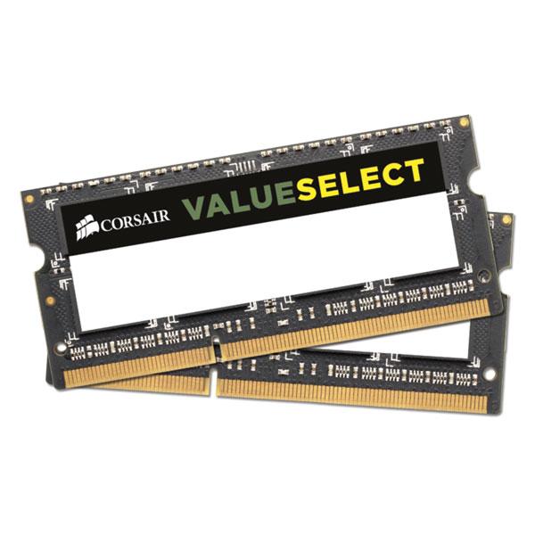 Corsair Value Select 4gb 1x4gb Ddr3 Sodimm 1333mhz 1.5v Pc3-10600 204pi CMSO4GX3M1A1333C9