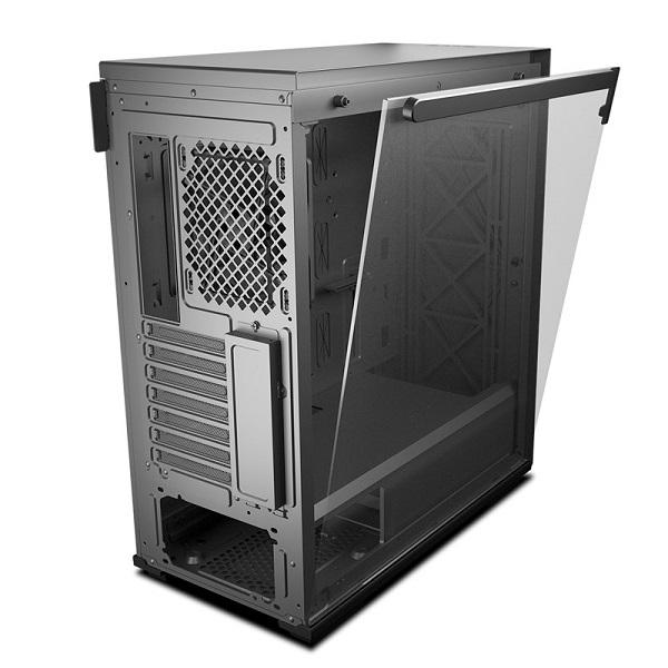 Deepcool Tempered Glass Case Black USB 3.02 7+2 Slots Mini-ITX/ATX-mATX Cases (MACUBE 310 BK)