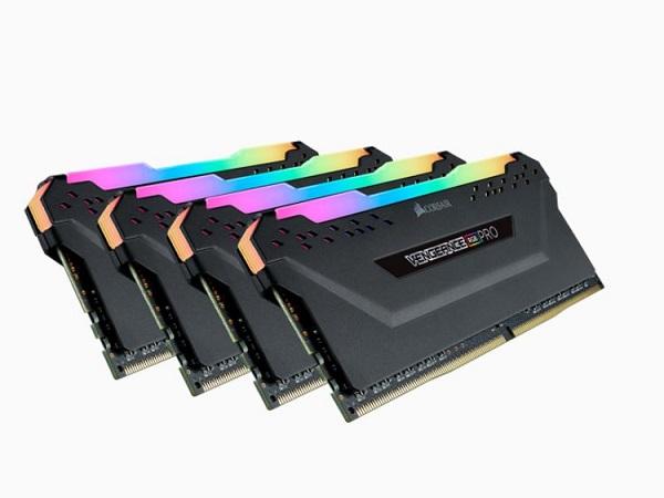 Corsair Vengeance RGB Pro 32GB 4x8GB DDR4 3200Mhz C16 Desktop Gaming Memory DDR4 Desktop Ram (CMW32GX4M4Z3200C16)