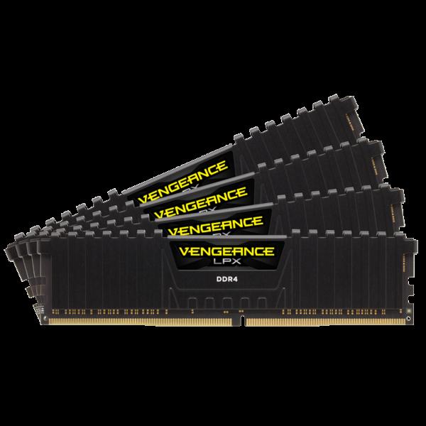 Corsair Vengeance LPX 64GB 4x16GB DDR4 Desktop Ram 3200Mhz C16 16-18-18-36 1.35v XMP 2.0 (CMK64GX4M4B3200C16)