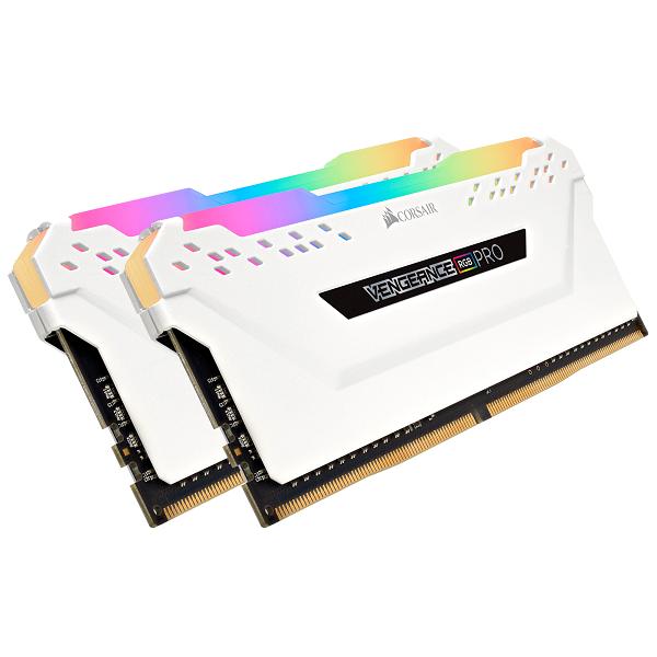 Corsair Vengeance RGB Pro 16GB 2x8GB DDR4 Desktop Ram 3600Mhz C18 Gaming Memory (CMW16GX4M2C3600C18W)
