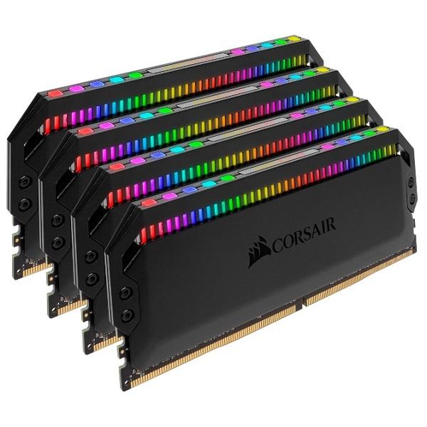 Corsair Dominator Platinum RGB 32GB 4x8GB DDR4 Desktop Ram 3600Mhz CL18 Dimm UNBUFF (CMT32GX4M4C3600C18)