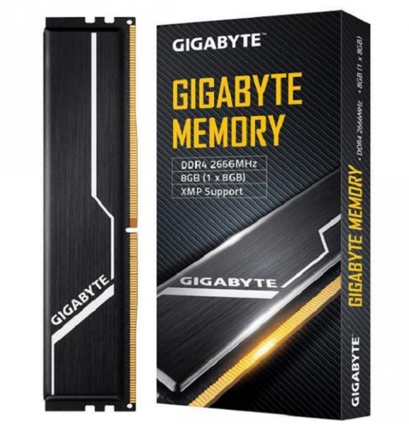 Gigabyte Gaming Memory 8GB 1x8GB DDR4 2666Mhz C16 1.2v 16-16-16-35 XMP 2 DDR4 Desktop Ram (GP-GR26C16S8K1HU408)