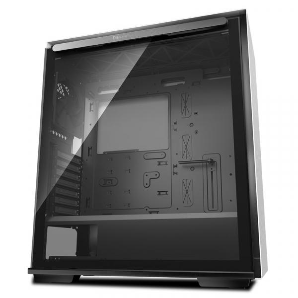 Deepcool Tempered Glass Case Black USB 3.02 7+2 Slots Mini-ITX/ATX-mATX (MACUBE 310 WH)