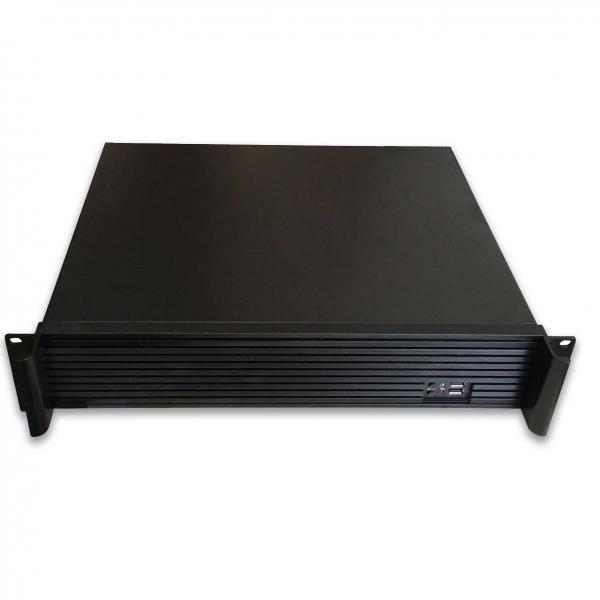 Tgc Rack Mountable Server Chassis 2u 350mm Depth With Atx Psu Window  TGC-20350
