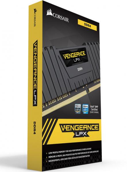 Corsair Vengeance LPX 16GB 2x8GB DDR4 2666Mhz C16 Desktop Gaming Memory DDR4 Desktop Ram (CMK16GX4M2Z2666C16)
