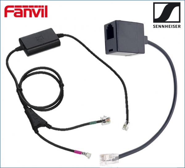 Fanvil / Sennheiser Electronic Hook Switch EHS Adapter - Inc RJ9 Conne IP Phone Accessories (EHSADAPTOR)