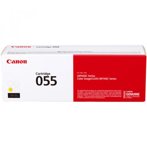 Canon Cartridge 055 Yellow CART055Y