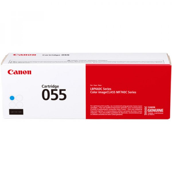 Canon Cartridge 055 Cyan CART055C