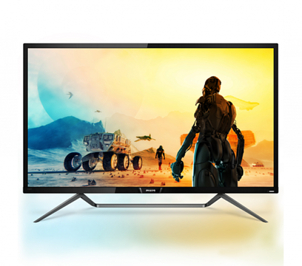 Philips 43in 4k Uhd 3840x2160 Hdr1000 4ms 16:9 Led Hdmi/dp/mini Dp/u ( 436m6vbpab )