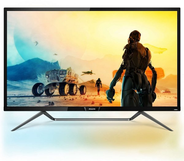PHILIPS 43 4K HDR 400 LED 3840x2160 5MS VGA-DP-HDMI USB (436M6VBRAB)