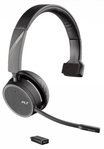 Poly Plantronics Voyager 4220 Office 2-way Base Ms Teams Usb-c Cable 214602-08