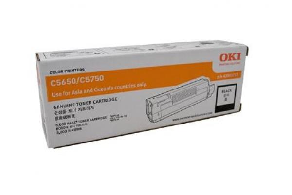 OKI Black Toner -c5650 / C5750 43865712