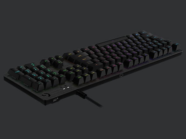 Logitech G512 Carbon Rgb Mechanical Gaming Keyboard Gx Blue clicky 920-008949