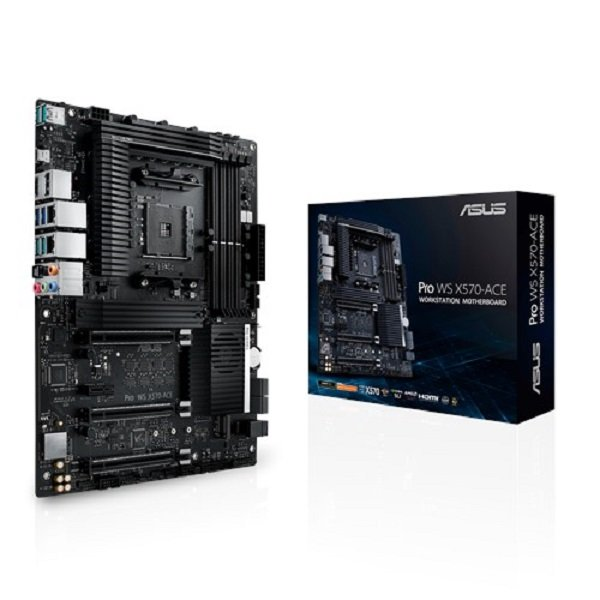 Asus Amd X570 Atx 3 Pcie 4.0 X16 Control (PRO WS X570-ACE)