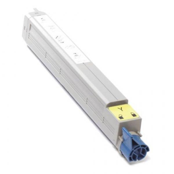 OKI Yellow Toner For C910 Yield 15000 44036037