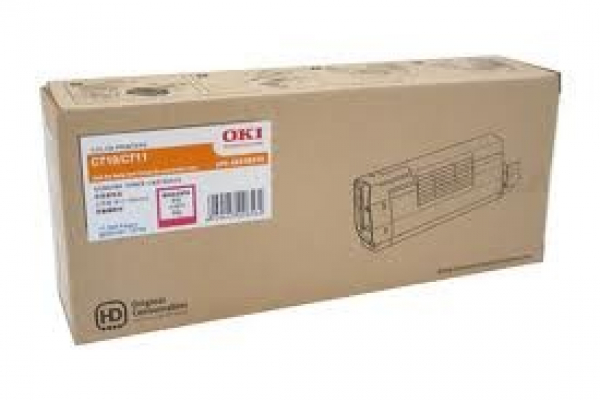 OKI Magenta Toner For C711n C710a Yield 11500 44318610