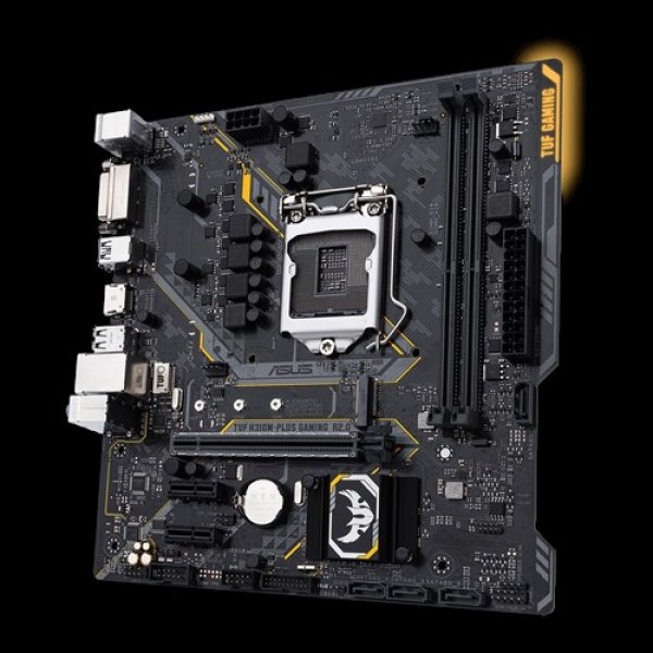 Asus S1151 Matx Gaming Mb 2xddr4 1xpcie 4xusb3.1 Gen1 6xusb2.0 1xhdmi  (TUF H310M-PLUS GAMING R2.0)