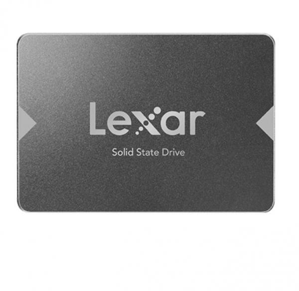 Lexar Ns100 256gb 2.5in Sata Ssd - 520mb/440mb/s Read Shock/vibration Re (LNS100-256RBAP)