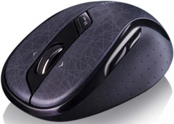 Rapoo 5ghz Wireless Optical Mouse Black - 4d Wheel 18m Battery Life (ls (7100P)