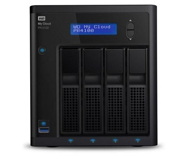 Western Digital Wd Cloud Pr4100 Pro Series 4-bay 24tb Nas - 1.6ghz Quad-core Cpu4 (WDBNFA0240KBK-SESN)
