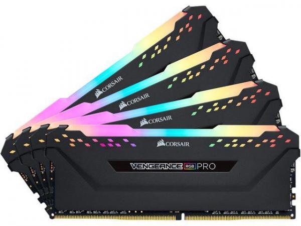 Corsair Vengeance Rgb Pro 128gb (4x32gb) Ddr4 2666mhz C16 Desktop Gaming  (CMW128GX4M4A2666C16)